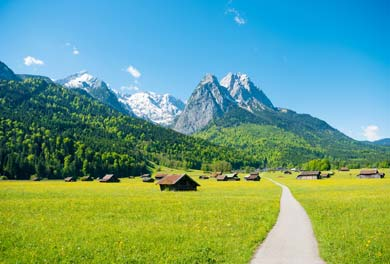 Garmisch Partenkirchen alps Germany
